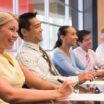 Fundraising board meeting