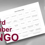 Board Member Bingo