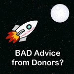 What to do When a Donor Gives You BAD Advice